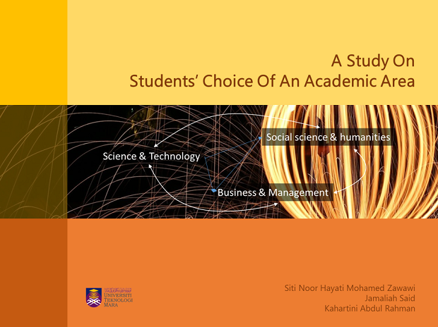 A Study on  Students' Choice of An Academic Area​
