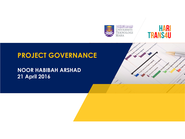 Slide Hari Trans4U 2016: Project Governance